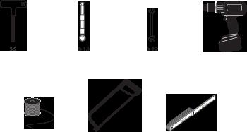 les outils qu'il vous faut pour installer des panneaux photovoltaïques sur le sol dans le jardin