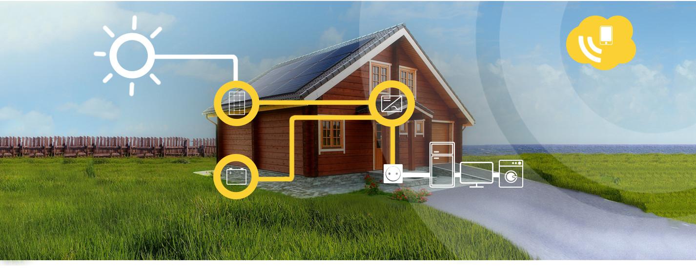 La maison auto-consommation photovoltaïque d'Alma Solar