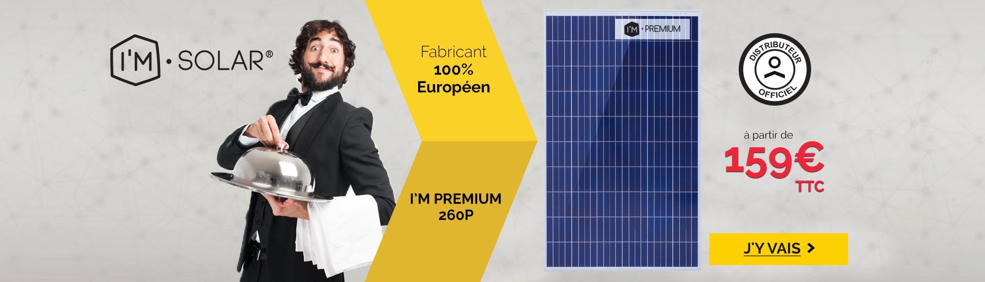 Panneau solaire I'M PREMIUM by I'M SOLAR®
