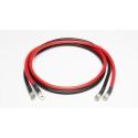 Câble de batterie - Lot de 2 câbles - 16 mm² / 2 m