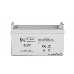 Batterie ProPower GEL Deep Cycle 12V/100Ah