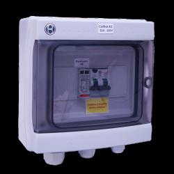 Coffret AC 5-6kW monophasé 230VAC 32A