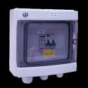 Coffret AC 3-4kW monophasé 230VAC 16A