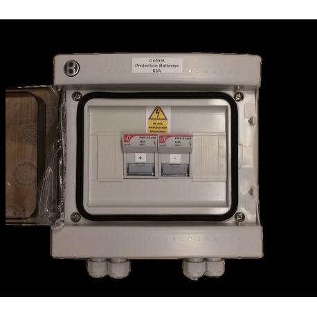 Coffret de protection Batteries 63A