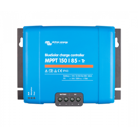 Régulateur VICTRON ENERGY BlueSolar MPPT 150/85 tri