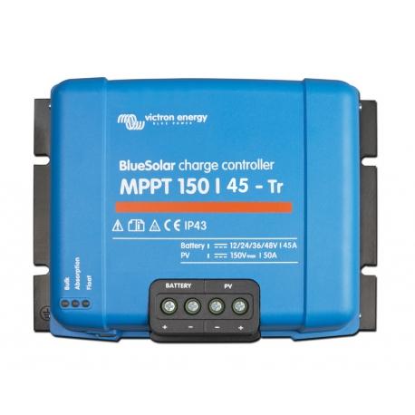 Régulateur VICTRON ENERGY BlueSolar MPPT 150/45-tri