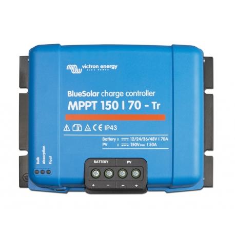 Régulateur VICTRON ENERGY Blue Solar MPPT 150/70 tri