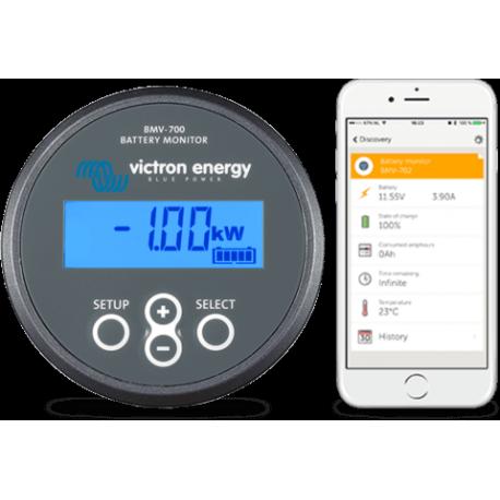 contr leur de batterie bmv 700 victron energy alma solar n 1 des panneaux solaires. Black Bedroom Furniture Sets. Home Design Ideas