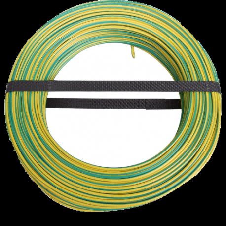50m câble de masse vert/jaune 6 mm²