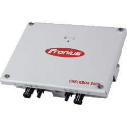 Boîtier Fronius Checkbox pour connecter la batterie LG CHEM HV