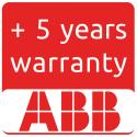 Extension de garantie ABB à 10ans pour TRIO-27.6-TL