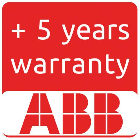 Extension de garantie ABB à 10 ans pour TRIO-5.8-TL