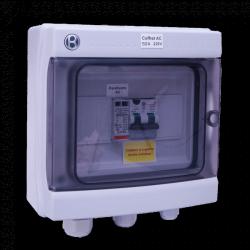Coffret AC 7-10 kW monophasé 230 V AC 50A