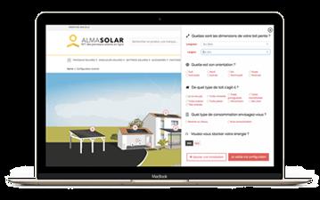 configurateur photovoltaïque d'économie d'énergie
