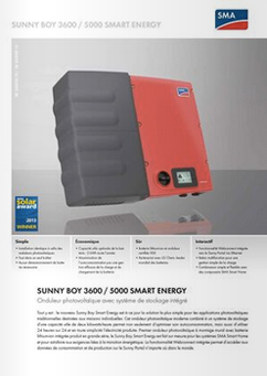 Onduleur SMA Smart Energy