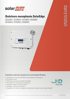 Onduleur SolarEdge HD WAVE